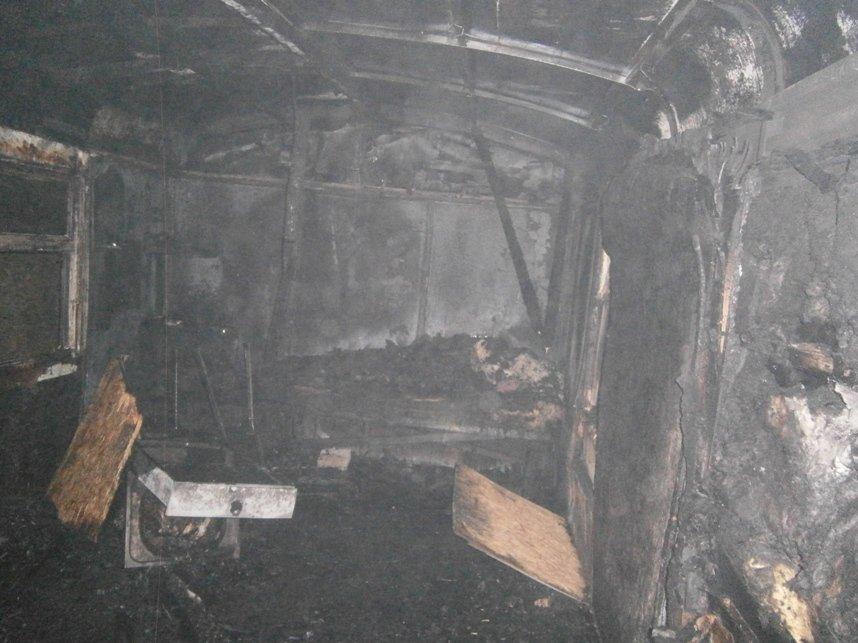 На Кировоградщине заживо сгорел мужчина (фото) - фото 1