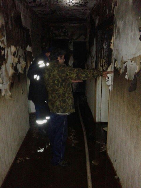 В Николаеве спасли от пожара мать и сына, эвакуировали соседку   (ФОТО) (фото) - фото 2