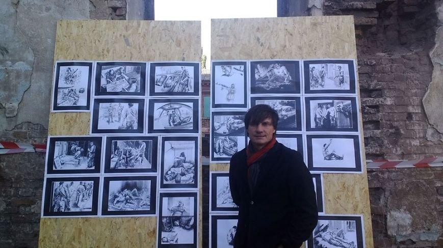 В развалинах мариупольской синагоги художники смогли вырваться из «Плена» (Фотофакт), фото-6