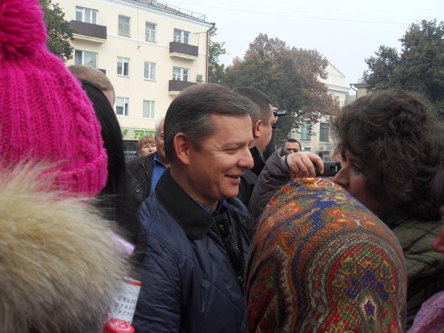 У Полтаві Ляшко робив селфі з прихильниками і агітував за себе (ВІДЕО) (фото) - фото 1