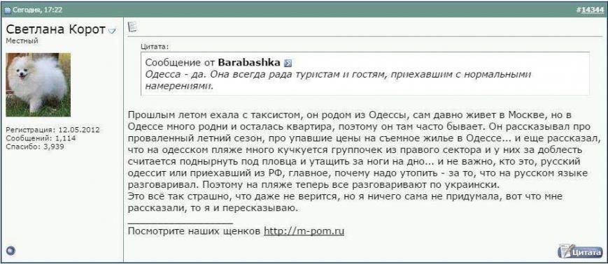 Москвичкам рассказывают,что на одесских пляжах топят за русский язык (ФОТО) (фото) - фото 1