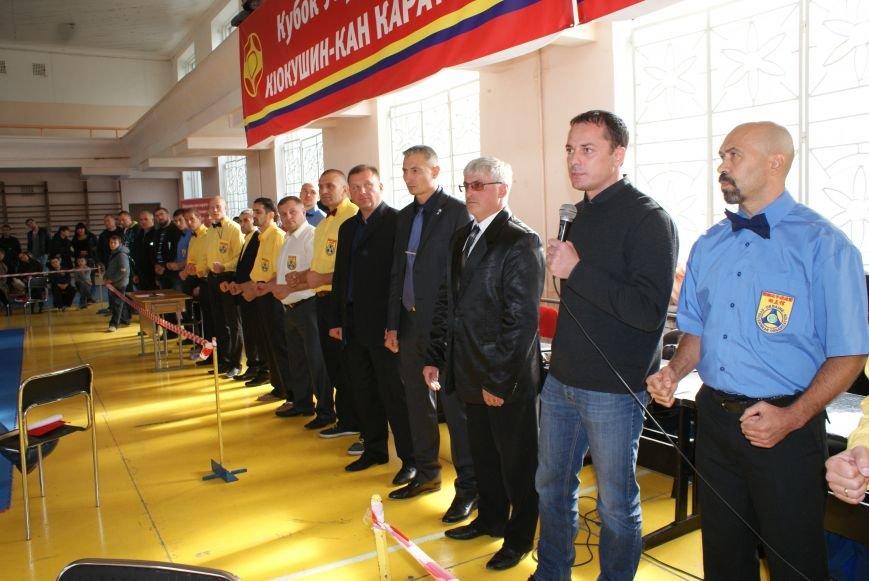 Кубок Украины по киокушин-кан карате прошел в Днепродзержинске (фото) - фото 1