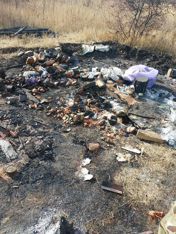 В 55-й запорожской бригаде сгорела палатка, пострадали трое солдат, - фото, фото-1