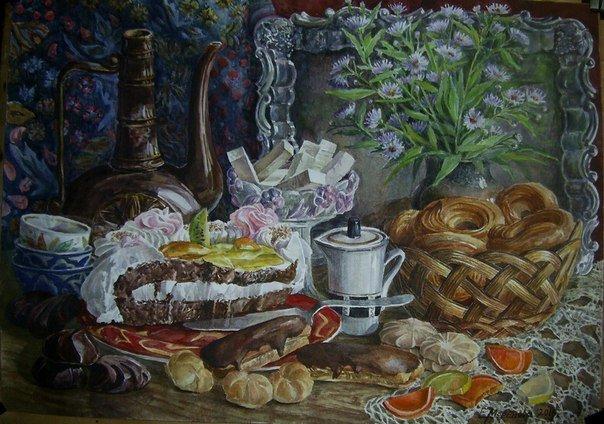 Музей Чистякова в Царском Селе приглашает посетить выставку Елены Мореновой (фото) - фото 1