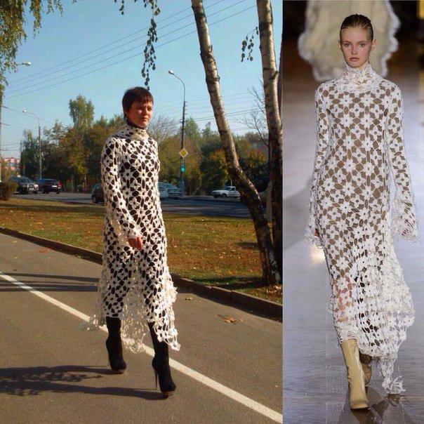 Гомельчанка пошила аналог платья от Стеллы Маккартни, оригинал которого стоит больше трех тысяч долларов (фото) - фото 5