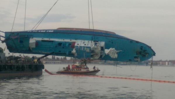 Затонувший катер «Иволга» подняли с морского дна (+фото) (фото) - фото 2