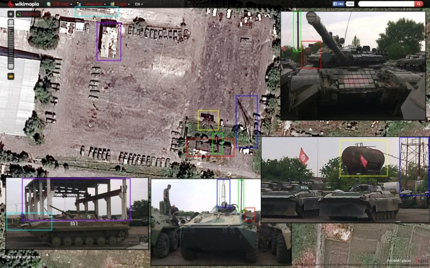 ОБСЕ зафиксировала технику боевиков около Мариуполе (фото) - фото 1