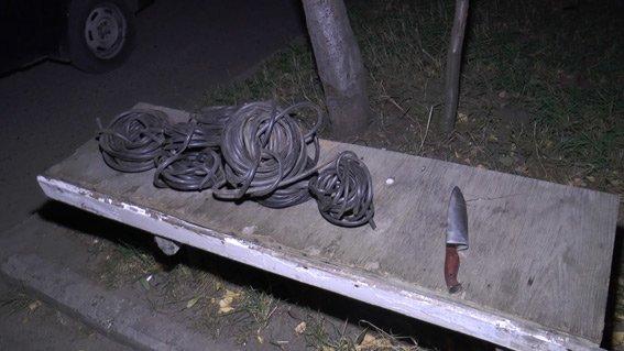 В Сумах двое студентов промышляли кражами телефонных и телевизионных кабелей (ФОТО) (фото) - фото 1