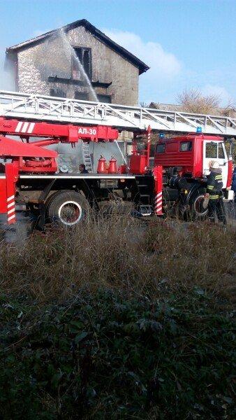 в Харькове произошел крупный пожар в частном секторе (ФОТО) (фото) - фото 1