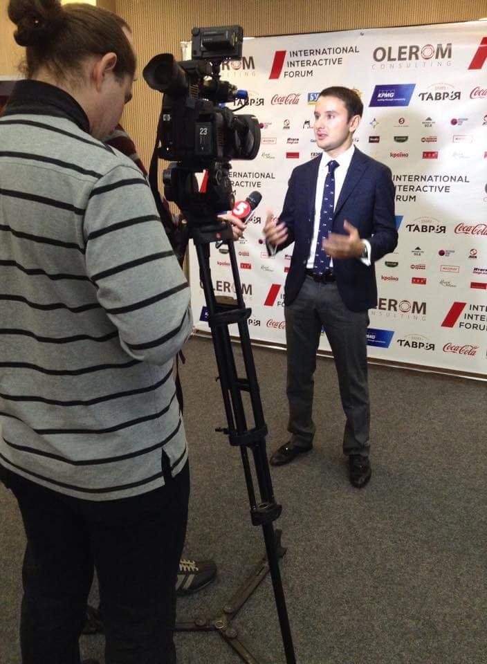 В Киеве прошел Международный интерактивный форум с участием Джона Вон Эйкена (фото) - фото 2