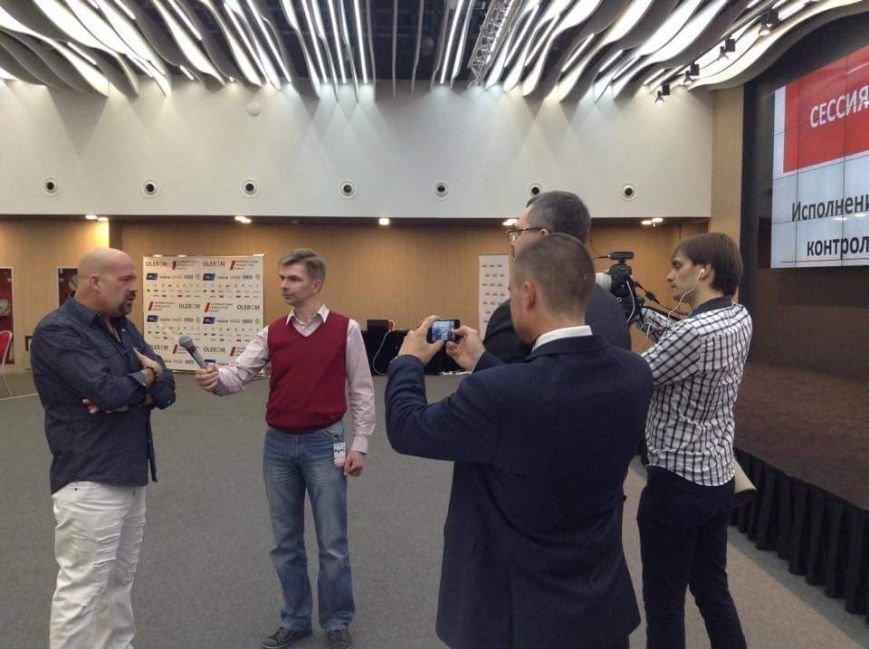 В Киеве прошел Международный интерактивный форум с участием Джона Вон Эйкена (фото) - фото 1