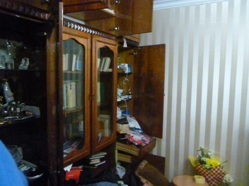 Перед выборами в Красноармейске неспокойно: ограблена квартира кандидатов в депутаты от местной партийной организации ВО «Батьківщина» (фото) - фото 4