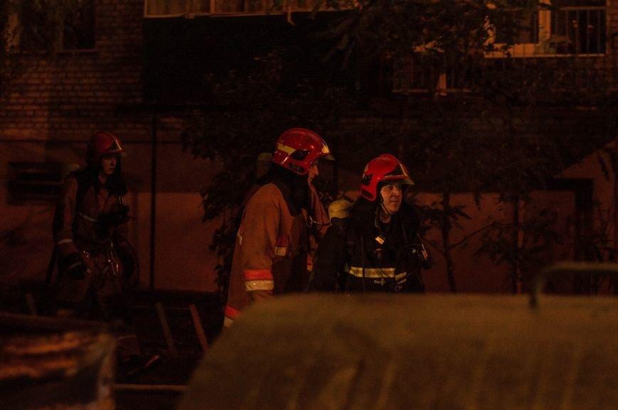 Крупный пожар в жилом доме на Кожара: сгорели несколько балконов  (ФОТО), фото-14