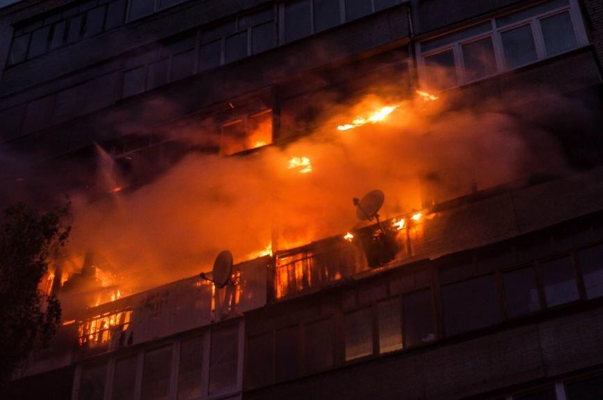 Крупный пожар в жилом доме на Кожара: сгорели несколько балконов  (ФОТО), фото-2
