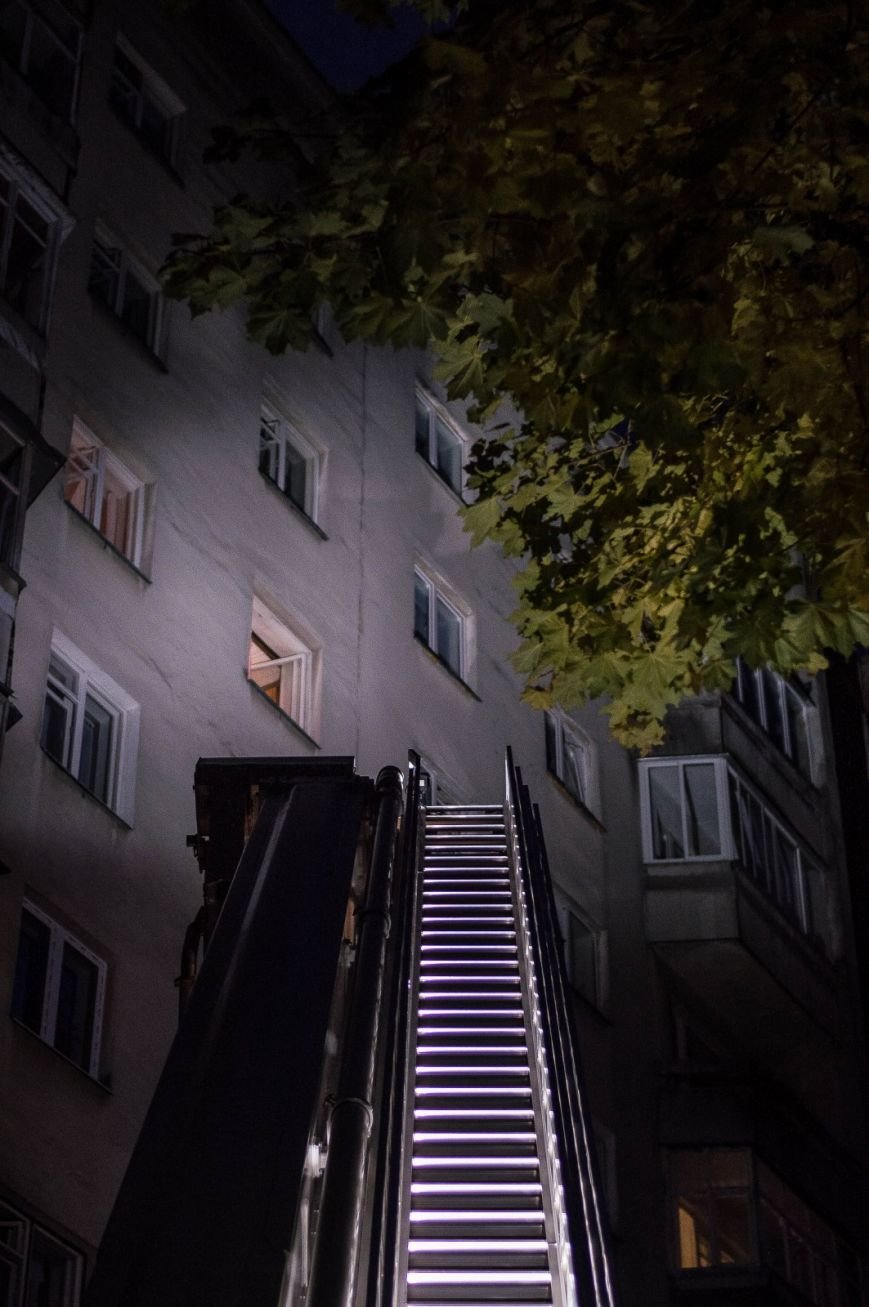Крупный пожар в жилом доме на Кожара: сгорели несколько балконов  (ФОТО), фото-9