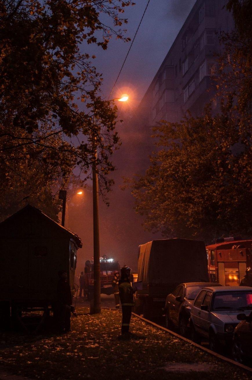 Крупный пожар в жилом доме на Кожара: сгорели несколько балконов  (ФОТО), фото-3