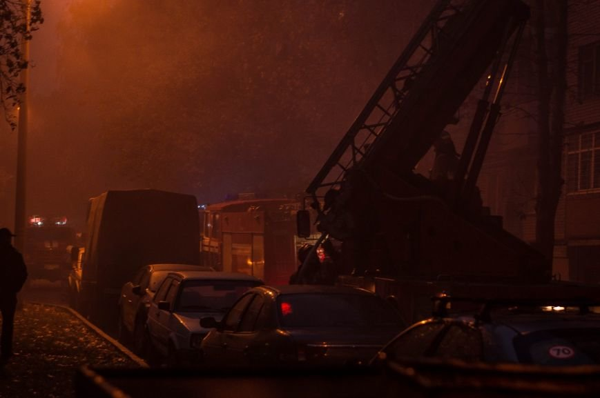 Крупный пожар в жилом доме на Кожара: сгорели несколько балконов  (ФОТО), фото-4