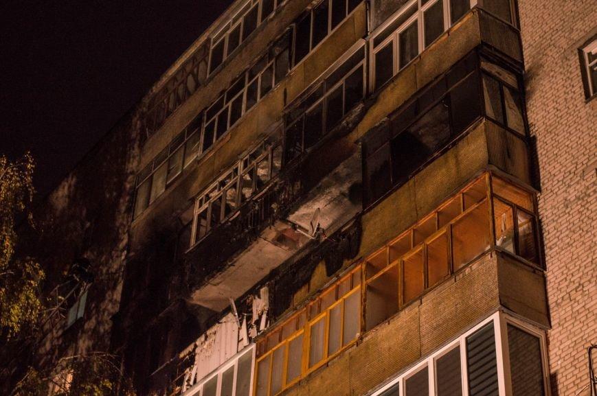 Крупный пожар в жилом доме на Кожара: сгорели несколько балконов  (ФОТО), фото-13