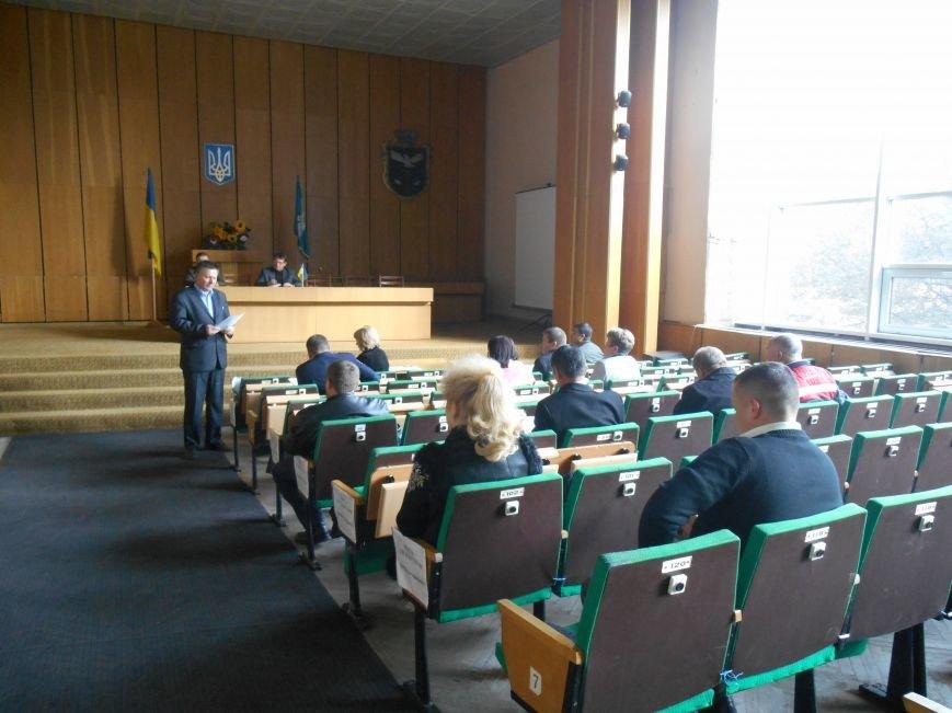 Городской совет провел заседание по вопросам безопасной жизнедеятельности населения (фото) - фото 1