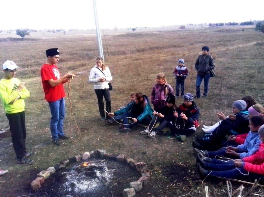 В Краматорске состоялся лагерь казацко-рыцарского кружка «Джура» (фото) - фото 1