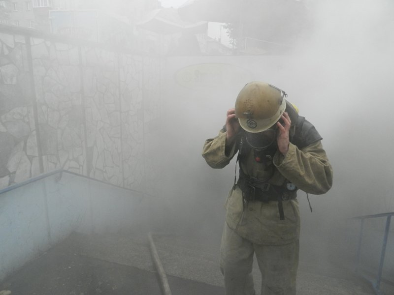 Центр Херсона горит (фото) - фото 4