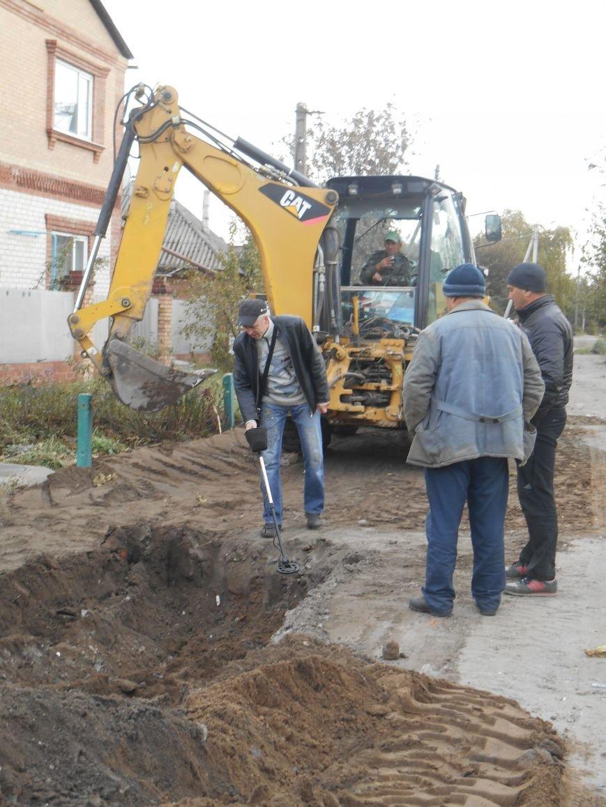 Работа по коллектору на ул.Полярной началась (фото) (фото) - фото 5