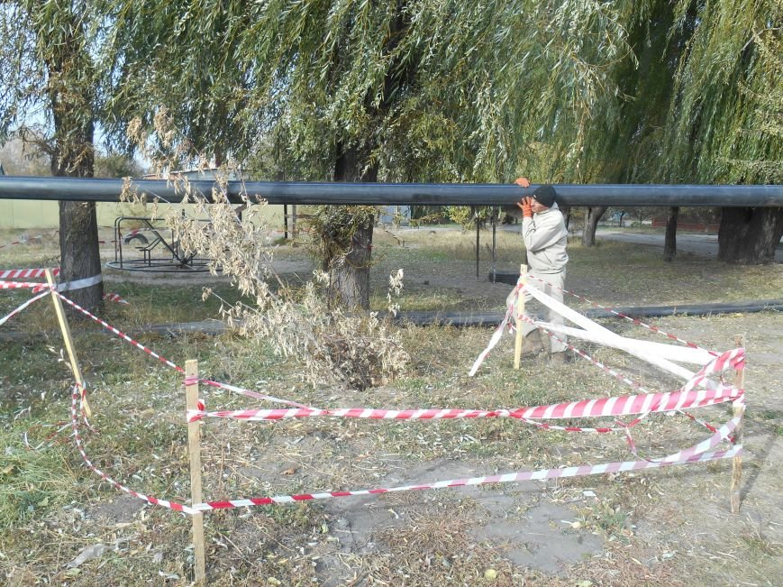 Работа по коллектору на ул.Полярной началась (фото) (фото) - фото 3
