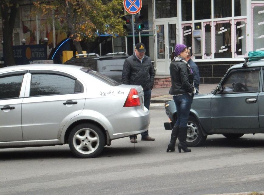 В центре Кировограда произошла авария. ФОТО (фото) - фото 1