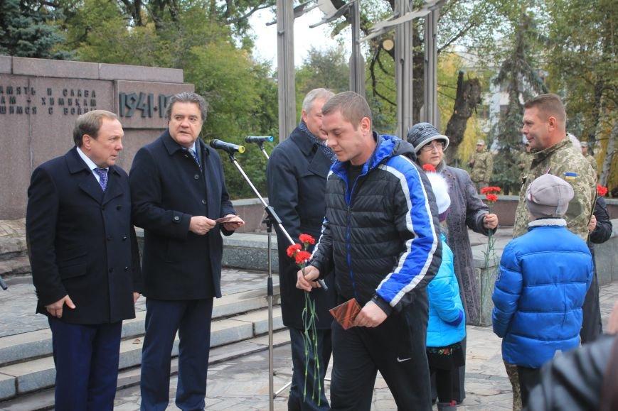 Днепродзержинск отмечает 72-ю годовщину освобождения города от немецко-фашистских захватчиков, фото-22