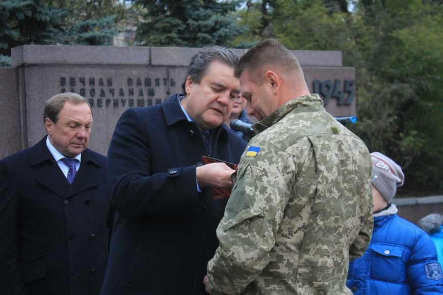 Днепродзержинск отмечает 72-ю годовщину освобождения города от немецко-фашистских захватчиков, фото-23