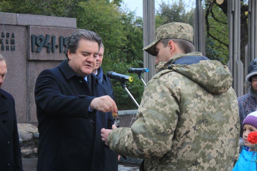Днепродзержинск отмечает 72-ю годовщину освобождения города от немецко-фашистских захватчиков, фото-24