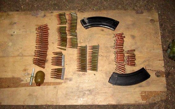 На Полтавщині у мешканця іншої області виявили зброю (ФОТО) (фото) - фото 1