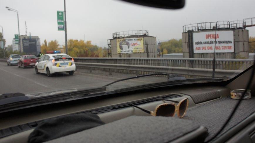 ДТП на Южном мосту привело к большой пробке (ФОТО) (фото) - фото 1