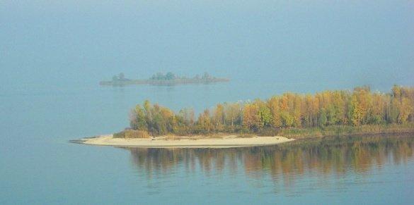 острови на дніпрі