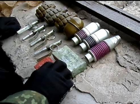 На территории НКМЗ нашли склад с боеприпасами (ФОТО, ВИДЕО) (фото) - фото 1