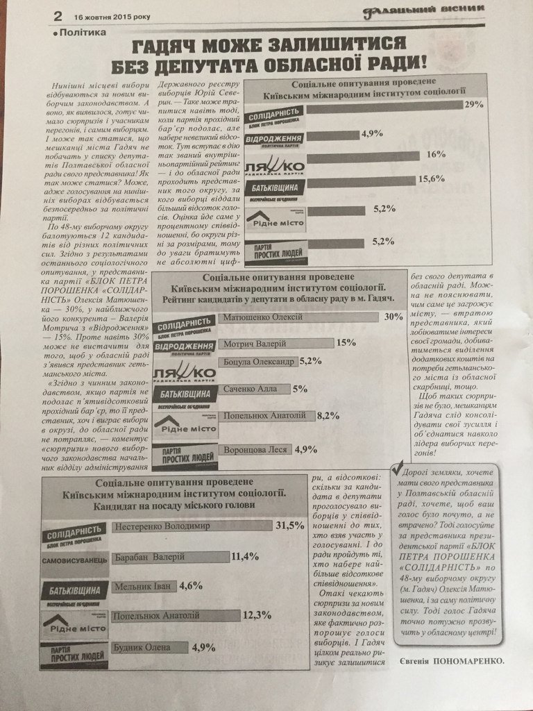 Київський інститут соціології погрожує позовом кільком полтавським виданням, фото-2