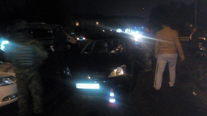 Возле типографии «Приазовского рабочего» женщина-водитель сбила милиционера (ФОТО), фото-4