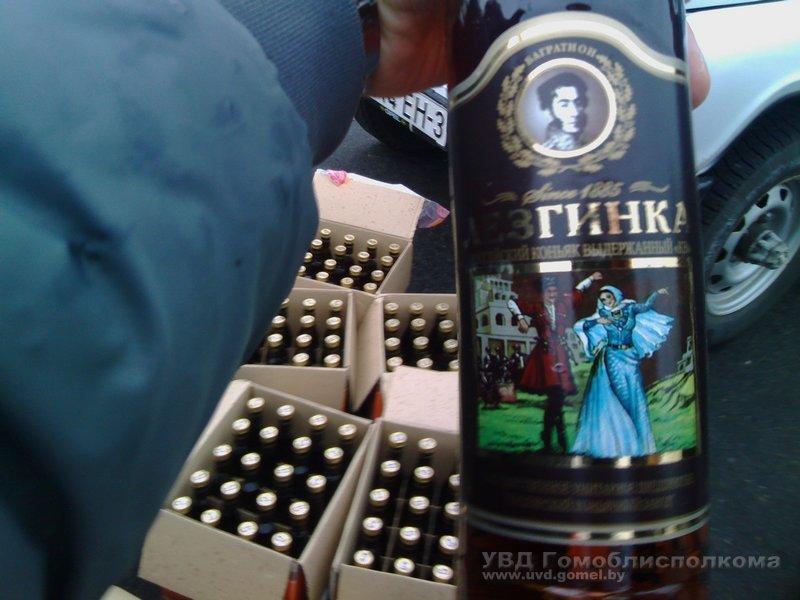 Почти 100 литров контрафактного коньяка изъято из оборота в Добрушском районе Гомельской области (Фото), фото-3