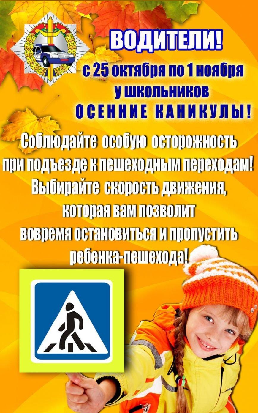 Новополоцкая Госавтоинспекция информирует горожан! (фото) - фото 1