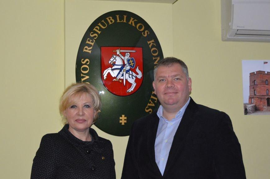 Почесне консульство Литовської Республіки відкрили в Івано-Франківську (ФОТО) (фото) - фото 5