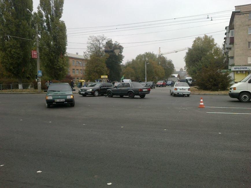 У Полтаві не розминулися відразу три автомобілі (ФОТО) (фото) - фото 1