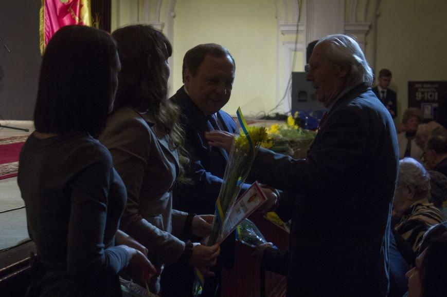 В Днепродзержинском театре ко Дню освобождения города состоялся праздничный концерт, фото-5