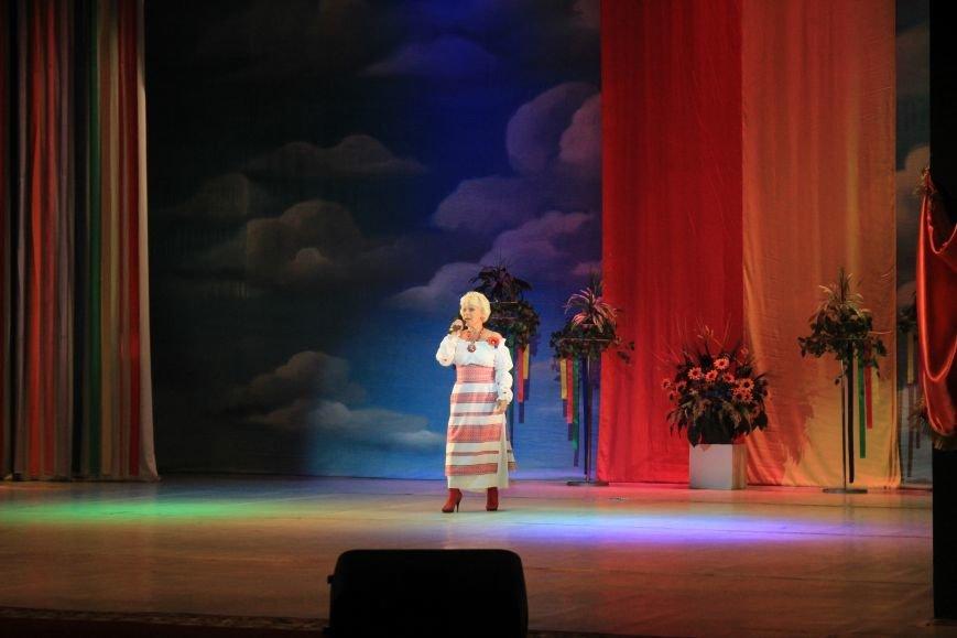 В Днепродзержинском театре ко Дню освобождения города состоялся праздничный концерт, фото-14