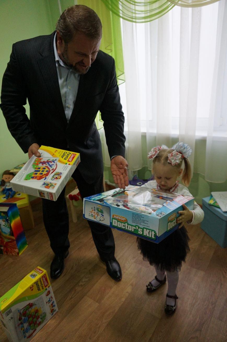 Благодаря помощи криворожского предпринимателя Олега Ляденко в двух ОСМД появилась детская игровая и крепкое крыльцо (ФОТО) (фото) - фото 10