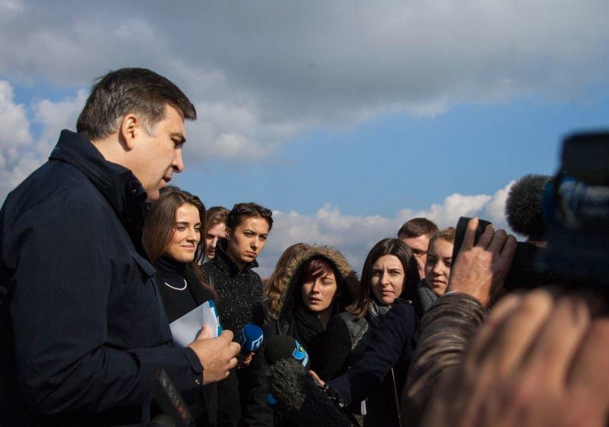 Саакашвили разнес в клочья «Евротерминал» Одесской таможни (фото) - фото 3