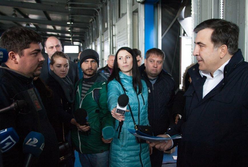 Саакашвили разнес в клочья «Евротерминал» Одесской таможни (фото) - фото 2
