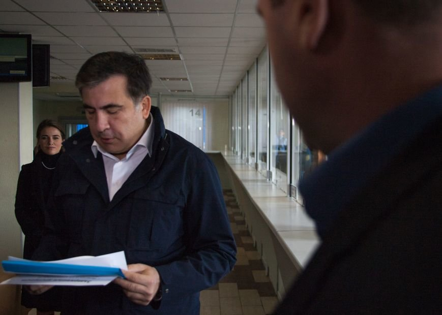 Саакашвили разнес в клочья «Евротерминал» Одесской таможни (фото) - фото 1