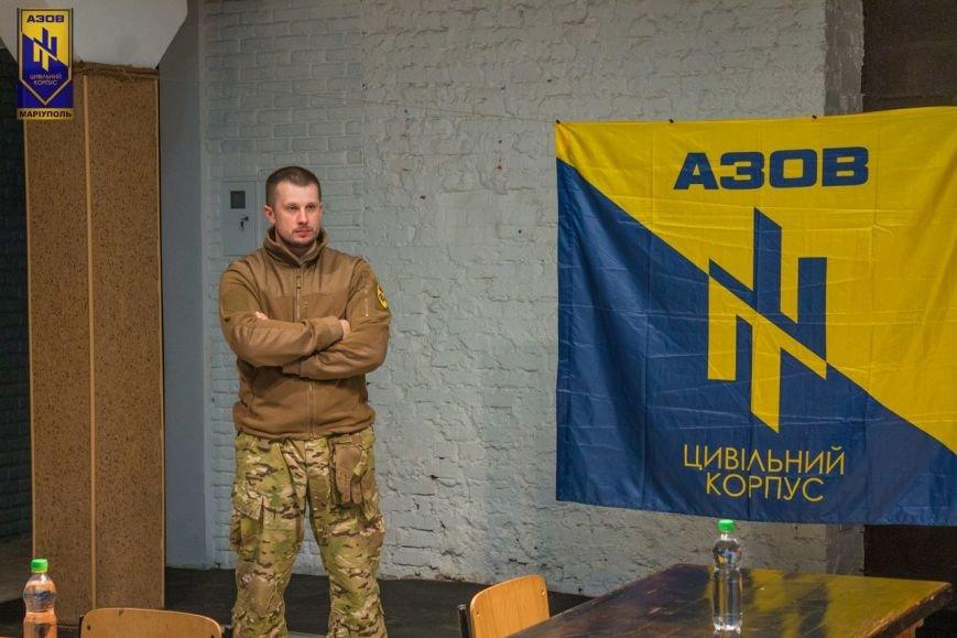 Андрей Билецкий похвалил Граждански корпус «Азов» за патрулирование Мариуполя (ФОТО) (фото) - фото 1