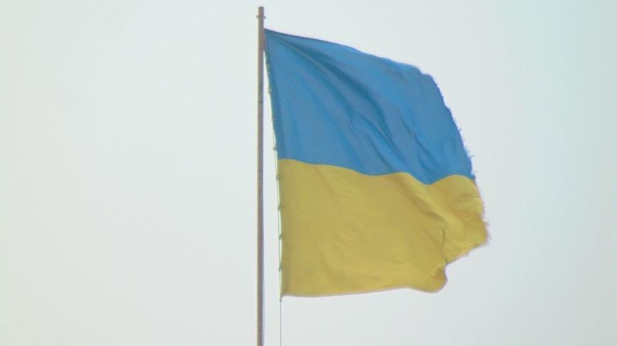 Ко дню выборов исчезла половина главного флага Мариуполя (ФОТОФАКТ) (фото) - фото 1