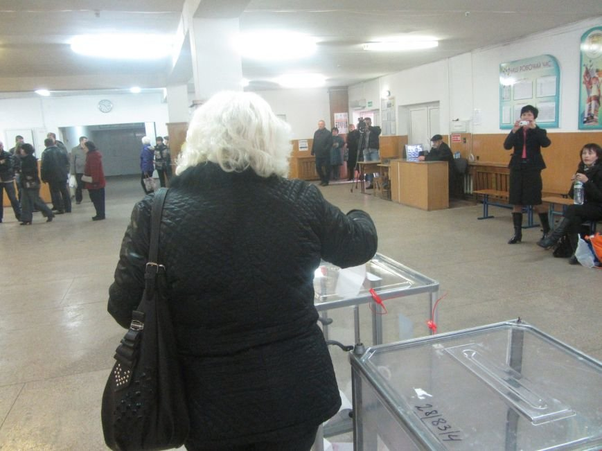 Выборы 2015 в Днепропетровске: начало (ФОТО), фото-6
